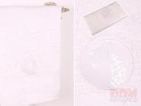 Полотенце  Водолей ,белое, 90x50 см.