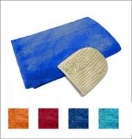 Комплект махровый для мужчин, Банные штучки (03681), цвет: Красный