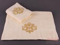 Комплект полотенец  Золотой вензель , 2 шт., 100x50 см.