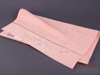 Полотенце махровое, hayal, персик, 100x50 см.
