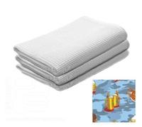 Полотенце-простынь банное вафельное, цветное с рисунком 80х150см, Банные штучки (32071) расцветка 8
