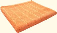 Полотенце Комфорт Радуга оранж.100*140см