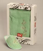 Женский набор для сауны TAC,махровый,светло-зеленый