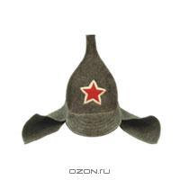 """Шапка для бани и сауны """"Буденовка"""". 41006"""