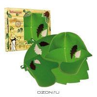 """Набор для бани и сауны """"Банный лист"""", цвет: зеленый. Б4727"""