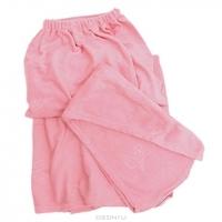 """Комплект женский для бани и сауны """"Eva"""",цвет: розовый. Б263"""