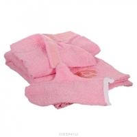 """Комплект для бани и сауны """"Банные штучки"""", женский, цвет: розовый"""