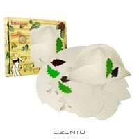 """Набор для бани и сауны """"Банный лист"""", цвет: белый. Б4927"""