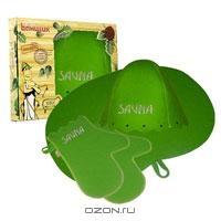 """Набор для бани и сауны """"Сауна"""", цвет: зеленый"""