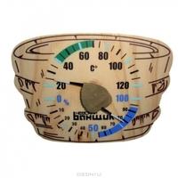 "Термометр+гигрометр д/бани и сауны ""Шайка"""