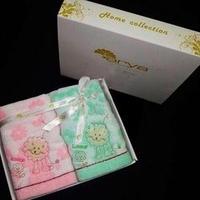 Комплект полотенец детский Arya Leone в коробке, 2 предмета